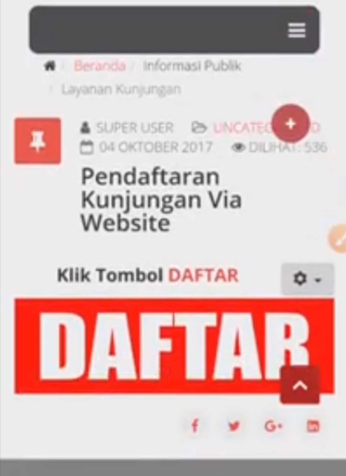 Waww Ada Yang Baru, Lapas Jelekong Meluncurkan Aplikasi Kunjungan Mobile Berbasis Web