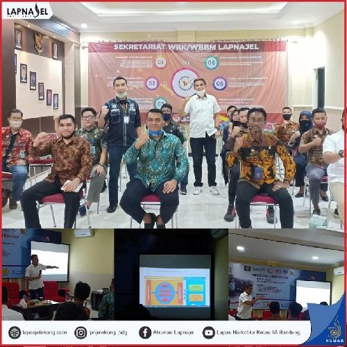 Berikan Penguatan, Staf Ahli Menteri Bidang Politik dan Keamanan Optimis Lapas Narkotika Bandung Meraih Predikat Wilayah Bebas dari Korupsi (WBK)