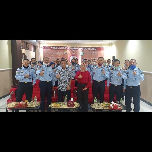 Lapas Narkotika Bandung Gandeng UT, Tingkatkan Kualitas SDM Pegawai